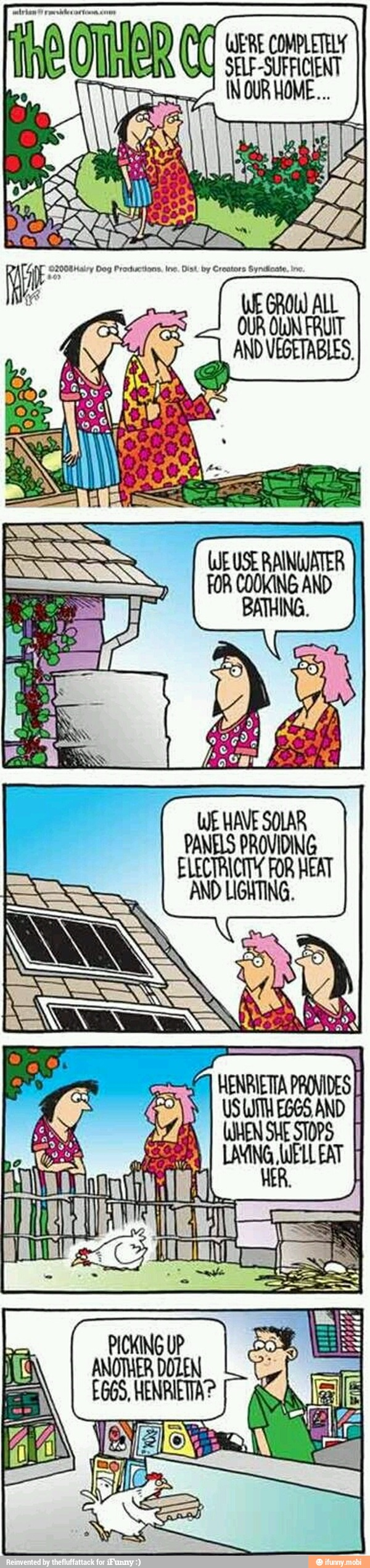Henrietta's Sustainability (Eco-Funny)
