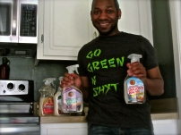 Going green with natural cleaning supplies