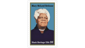 Mary Mccleod Bethune Stamp (photo: Bet.com)