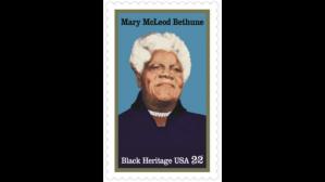 Mary Mccleod Bethune Stamp (photo: Bet.com)