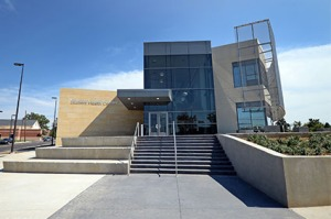 New LEED Silver Student Health Center