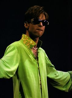 Image result for prince in green