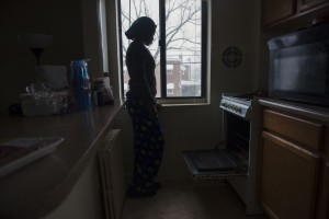 How it feels to be a poor mother living without heat during a blizzard by Terrence McCoy, Washington Post 1/23/16 /Photo credit: Amanda Voisard
